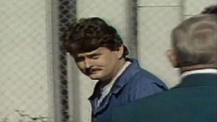 Bobby Joe Long toen hij opgepakt werd.