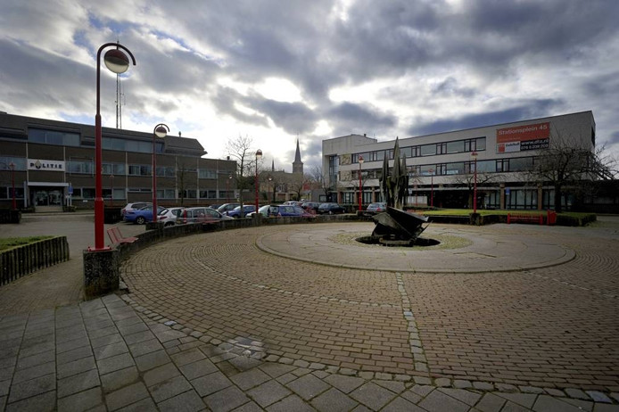 Het Stationsplein, Etten-Leur.