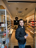 Moutasem Almasri (23) is begonnen met Baridi Perfumes.