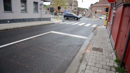 Verkeerslichten in het centrum worden geregeld via lusdetectie