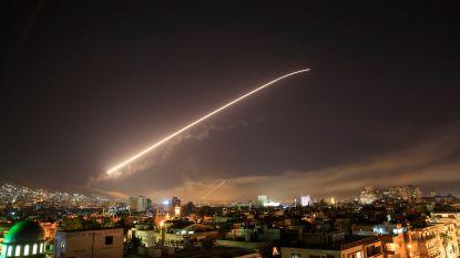 VS, Frankrijk en Groot-Brittannië bombarderen Syrië