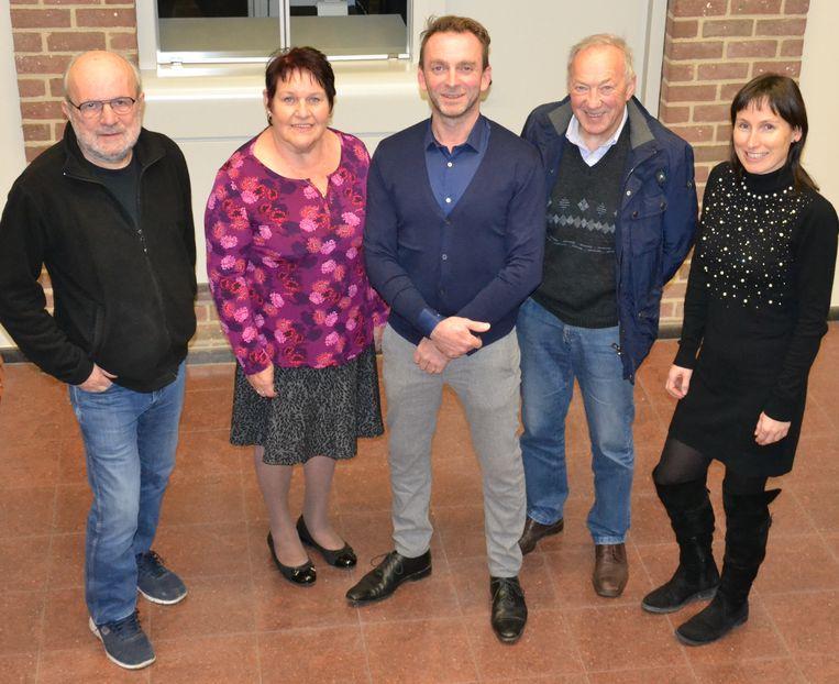 De mandatarissen van de Dorpspartij in het nieuwe Bijzonder Comité voor de Sociale Dienst (OCMW)