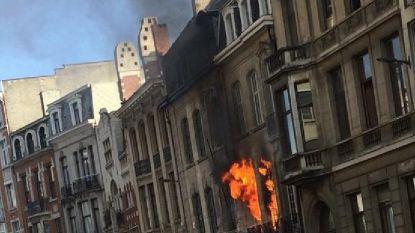 Gordijnbrand vernielt herenhuis