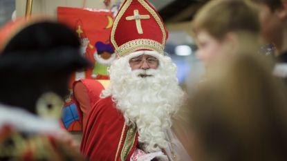 Sint ontvangt kinderen in eigen 'huis' in Warande
