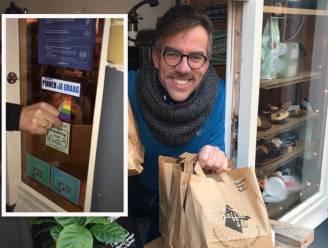 Delftse koffiezaakeigenaar verwijdert regenboog uit angst om rellen: 'Die maakt ons een doelwit'