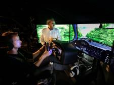 GTCRally wordt gereden in levensechte simulator: 'Je voelt zelfs de bewegingen van de wagen'