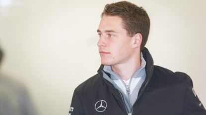 Debuterende Vandoorne test MP4-29 in Barcelona