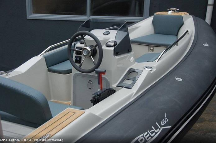 Een soortgelijke boot als op de foto is gestolen in Nieuwkoop.