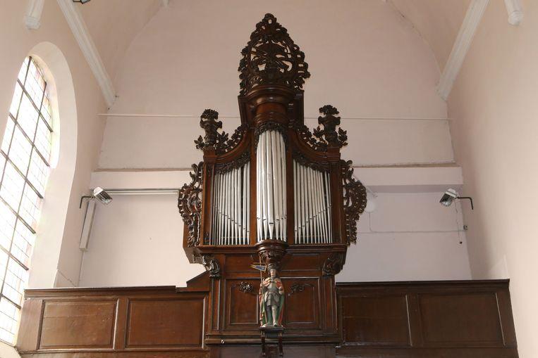 Het orgel in de Sint-Mattheuskerk.