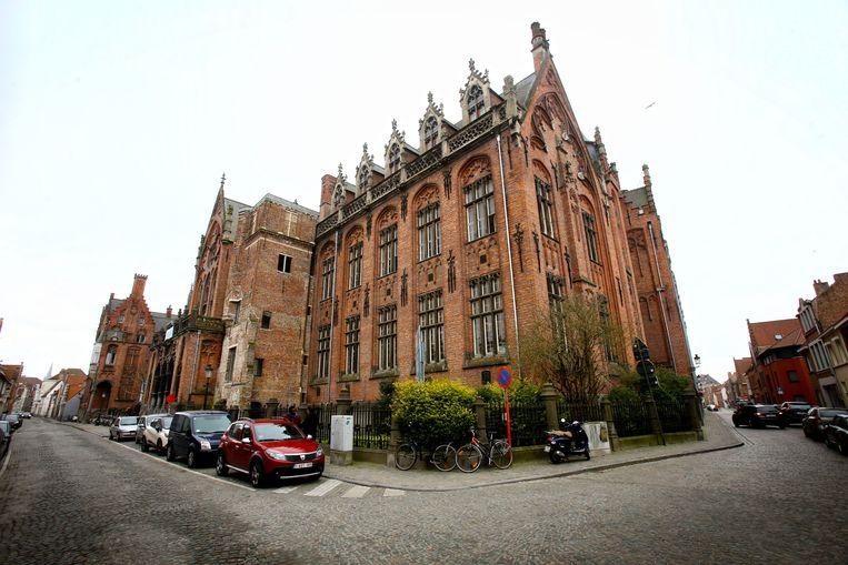 De campus Howest in de Sint-Jorisstraat in Brugge.