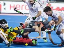Hockeyers kansloos ten onder tegen België