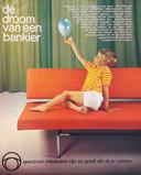 Een advertentie voor de slaapbank BR 02 uit 1967.