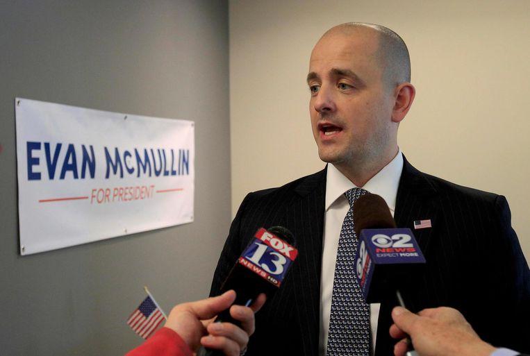 Evan McMullin. Beeld AP