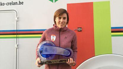 Sanne Cant (29) wint als eerste veldrijdster ooit de Kristallen Fiets