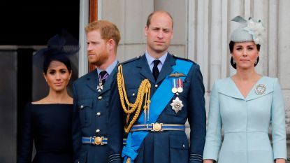 Prins William ontkent 'pestgedrag' tegenover Meghan in statement