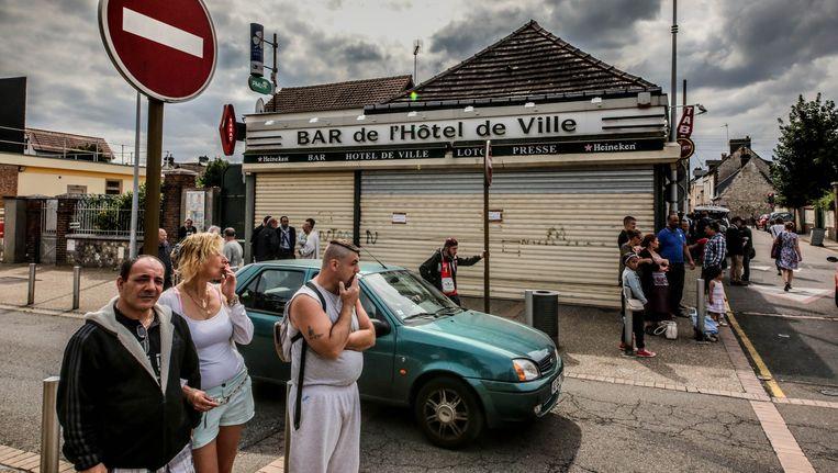 De bewoners van Saint-Étienne-du-Rouvray zijn in shock.
