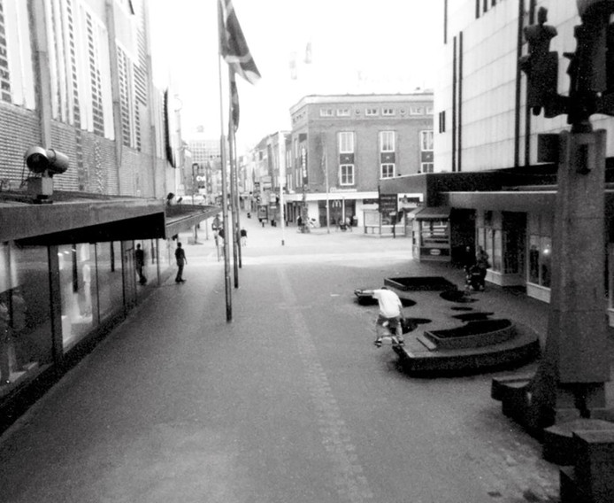 De oude Piazza: een walhalla voor skaters.