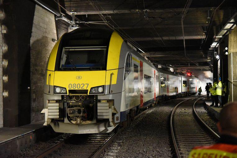 Rampoefening Brusselse Noord-Zuidverbinding