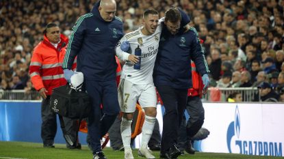 Wat Hazard al vreesde: toch barstje in enkel en 1 à 2 maanden out