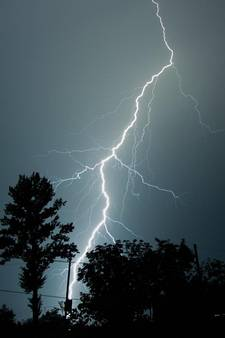 Geen problemen door zwaar nachtelijk onweer
