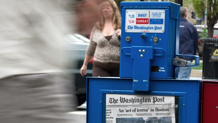 The Washington Post Beeld ANP