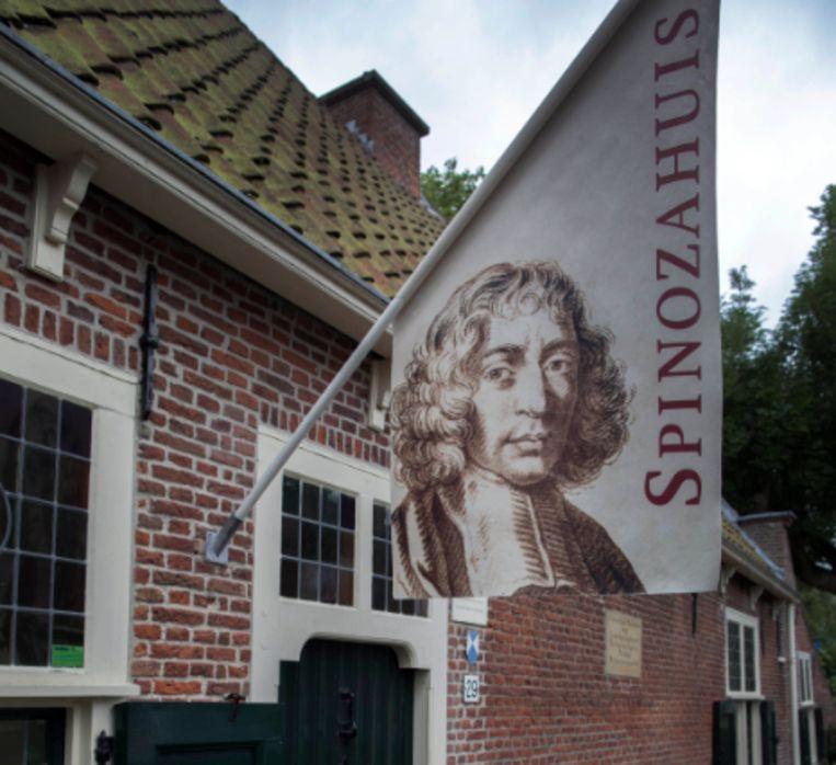 Het Spinozahuisje in Rijnsbrug Beeld Werry Crone