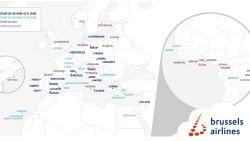Naar deze 20 Europese steden vliegt Brussels Airlines opnieuw vanaf 15 juni
