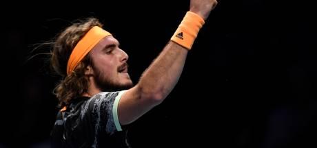Ook Tsitsipas naar laatste vier bij ATP Finals