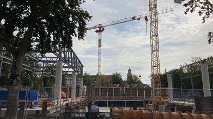 Aannemer die Beurs- en Congrescentrum bouwt, mag 's ochtends vroeger beginnen