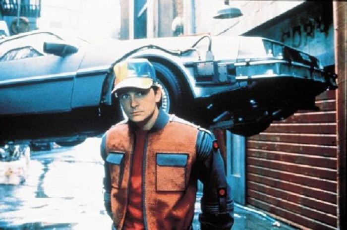 In de film 'Back to the Future' was de tijdmachine een blitse sportwagen.