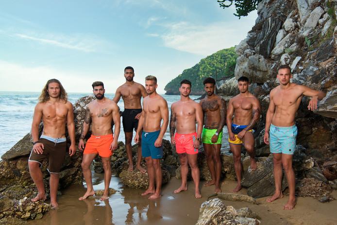 De mannelijke cast van Temptation Island 2020.