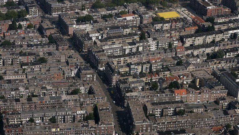 Van Woustraat. Foto Peter Elenbaas. Beeld