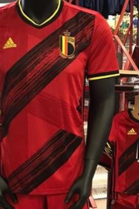 Le maillot des Diables pour l'Euro 2020 déjà en vente