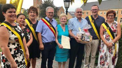Lieke en Etienne gevierd voor hun gouden jubileum