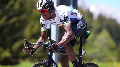 Cofidis vist Eritreëer Daniel Teklehaimanot op - Egan Bernal Colombiaans kampioen tijdrijden