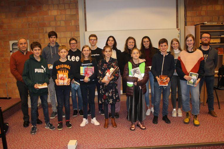 De junior journalist wedstrijd van het Davidsfonds was opnieuw een succes in Diksmuide