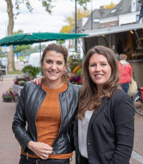 Collega's en vriendinnen in Rhenen