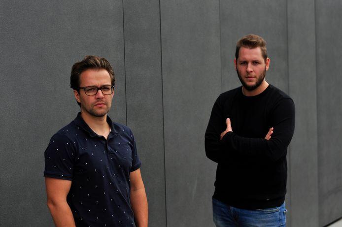 Hoplr-oprichters Jonas Heirwegh en Jennick Scheerlinck zagen het ledenaantal van hun buurtplatform op zeven jaar tijd aangroeien tot meer dan een half miljoen gebruikers.