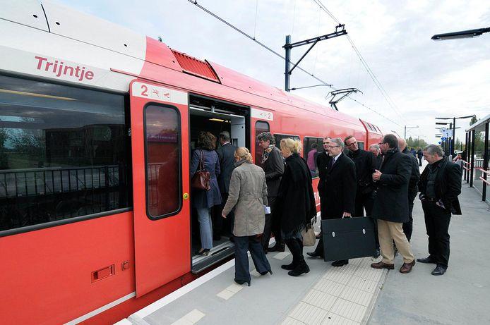 Een station op de MerwedeLingelijn.