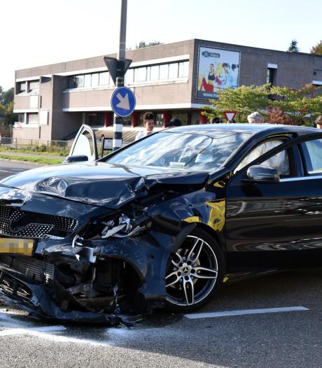 Vijf gewonden bij botsing in Nijmegen