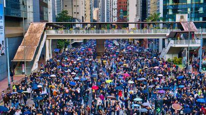 Hongkong toneel van grote protesten op oudjaarsdag