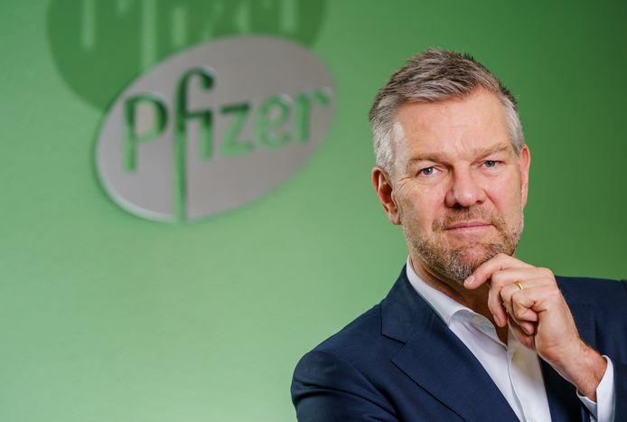 Marc Kaptein, medisch directeur bij Pfizer.