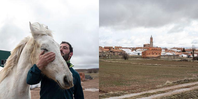 César Izquierdo (27), El Pobo. Beeld RV/Cesar Dezfuli