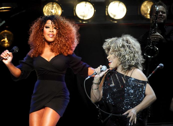 Beeldbewerking Berget Lewis en Tina Turner