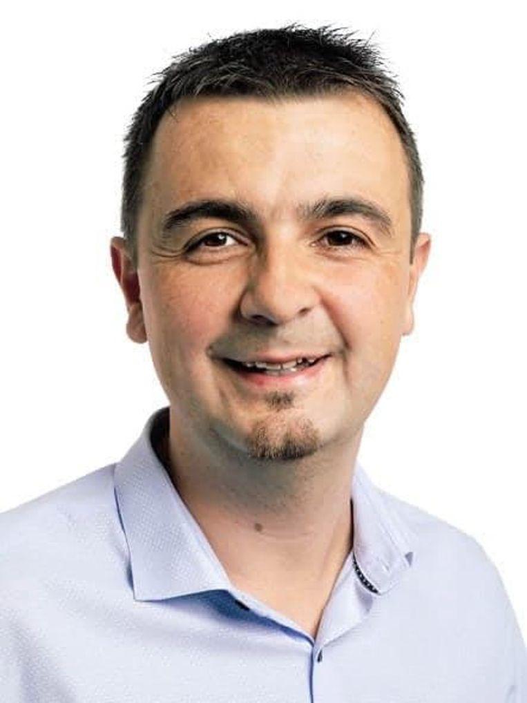 De nieuwe burgemeester Bert Ceulemans