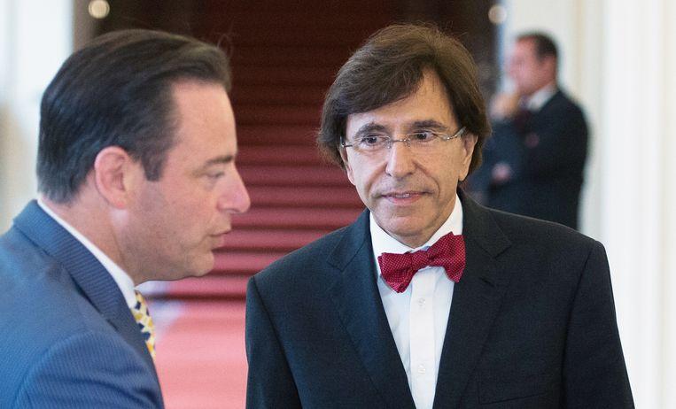 Archiefbeeld. De Wever (links) en Di Rupo