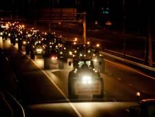 LIVE | 3000 tractoren in De Bilt, leger plaatst trucks als barrières in Den Haag