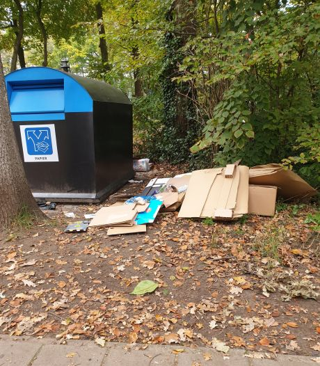 Irritatie over afvaldump in Lonneker: 'We willen toch allemaal een mooie omgeving?'