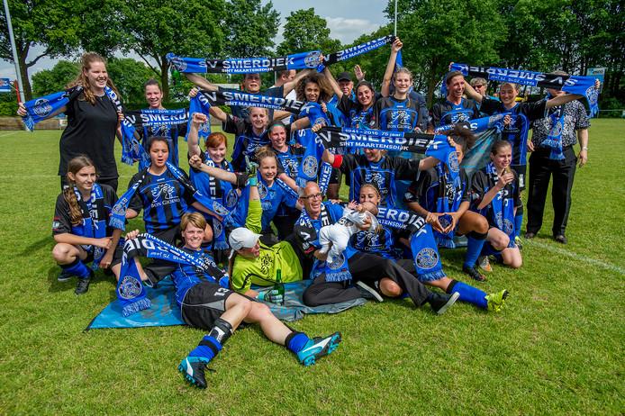 In 2016 wonnen de vrouwen van Smerdiek nog de districtsbeker.