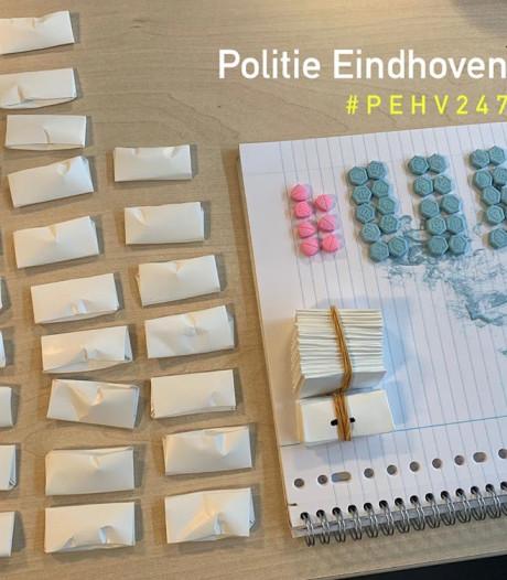 50 zakjes cocaïne en xtc-pillen gevonden in auto Eindhoven